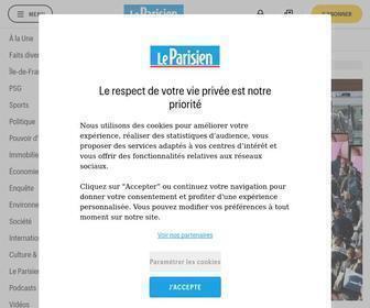 Leparisien.fr - Actualités en direct et info en continu - Le Parisien