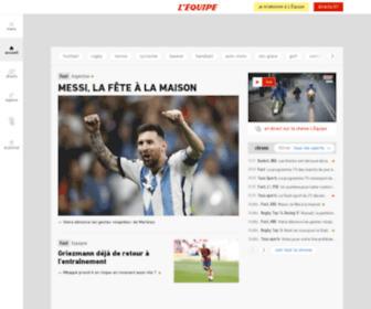 Lequipe.fr - L'ÉQUIPE - L'actualité du sport en continu.