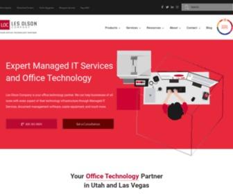Lesolson.com - Les Olson Company - Copiers, Printers, IT Services - Utah & Las Vegas