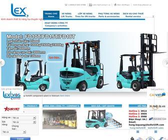 Lexforklift.com - Xe nâng  Xe nâng hàng Phụ tùng xe nâng   Cho thuê xe nâng   Lốp xe nâng   Sửa chữa xe nâng   Lex forklift  xe nâng thiết bị nâng hàng xe nâng mới  xe nâng cũ   hưng xe nâng  lexforklift.com hungxenang.com
