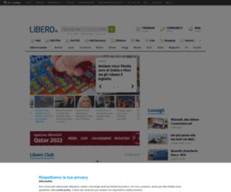 Libero.it - Libero - Mail, Ricerca e tanto altro