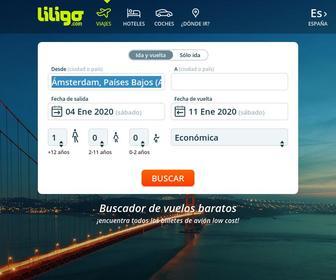 Liligo.es - Comparador de vuelos baratos | Buscador Liligo.com