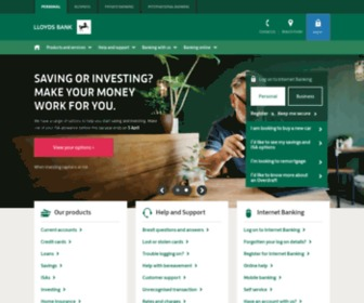 Lloydsbank.co.uk - Lloyds Bank - Personal Banking, Personal Finances & Bank Accounts