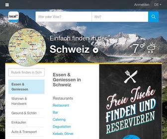 Local.ch - local.ch - the official phonebook and yellow pages of Switzerland