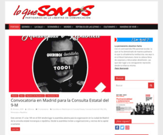 Loquesomos.org - LoQueSomos - Cultura Libre, Comunicación Libre