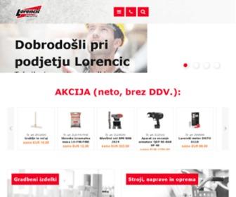 Lorencic.si - Dobrodosli pri podjetju Lorencic - Tehnika in servis za profesionalce