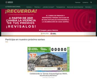 Lotenal.gob.mx - Lotería Nacional | Lotería Nacional de México