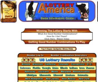 Lotteryamerica.com - Lottery America Drawing Results