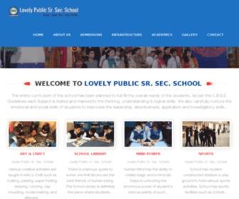 Lovelypublicschoolnlp.org - Welcome :: Lovely Public Sr. Sec. School | Powered By :: Redox Systems Pvt. Ltd.