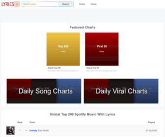Lyrics.lol - Lyrics.lol - The world's largest lyrics database