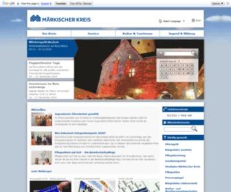 Maerkischer-kreis.de - Startseite - Märkischer Kreis