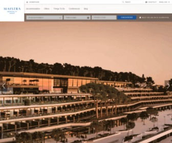 Maistra.com - Maistra - Hotels, resorts and apartments in Rovinj and Vrsar - Istria, Croatia