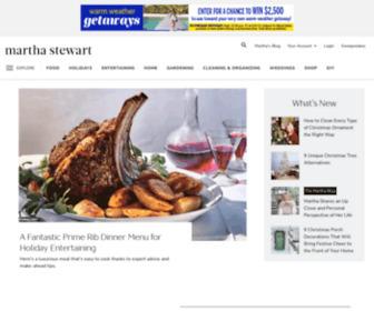Marthastewart.com - Martha Stewart | Recipes, DIY, Home Decor & Crafts