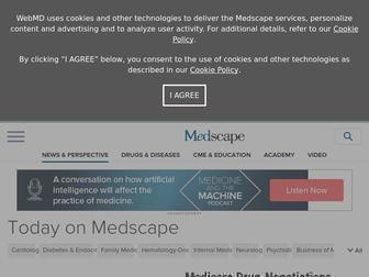 Medscape.com - Latest Medical News, Clinical Trials, Guidelines  – Today on Medscape