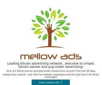 Mellowads.com - Mellow Ads: Simple, bitcoin banner and pop-under advertising