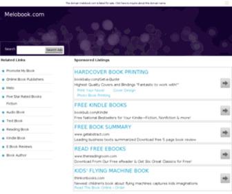 Melobook.com - HugeDomains.com - MeloBook.com is for sale (Melo Book)
