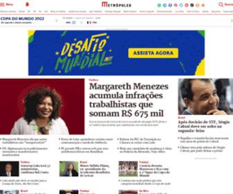 Metropoles.com - Metrópoles | O seu portal de notícias