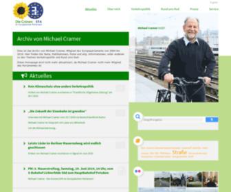Michael-cramer.eu - Aktuelles   Michael Cramer MdEP