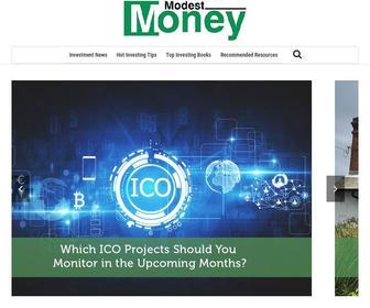 Modestmoney.com - Modest Money Investing News and Personal Finance Blog