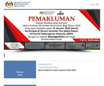Moe.gov.my - Portal Rasmi Kementerian Pendidikan Malaysia (KPM) | Kementerian Pendidikan Malaysia