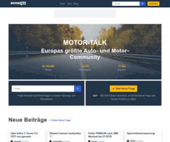Motor-talk.de - Ups, bist Du ein Mensch? / Are you a human?