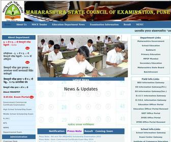 Mscepune.in - Maharashtra State Council of Examination