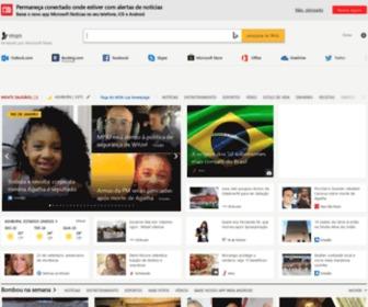Msn.com.br - Hotmail, Outlook, Skype, Notícias, Apps, Fotos e Vídeos - MSN Brasil