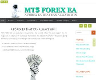 Mt5forexea.com - Forex Metatrader 5 Expert Advisor