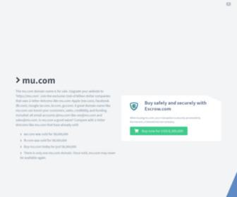 Mu.com - mu.com domain name is for sale. Inquire now.