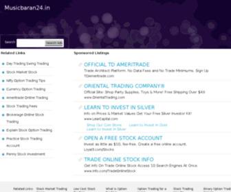 Musicbaran24.in - musicbaran24.in - de beste bron van informatie over musicbaran24. Deze website is te koop!
