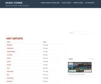 Musiccoder Musiccoder Com Music Coder Statscrop