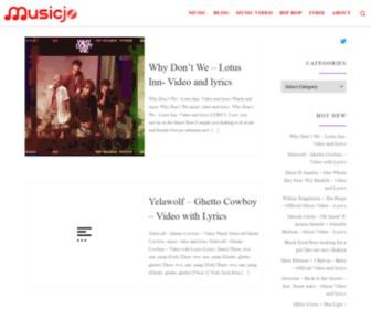 Musicjo.com - موزیک جو|MusicJo - دانلود آهنگ,اخبار موسیقی|Lyrics