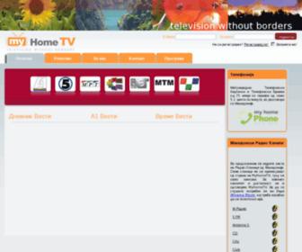 My-home-tv.com - homepage - My Home TV