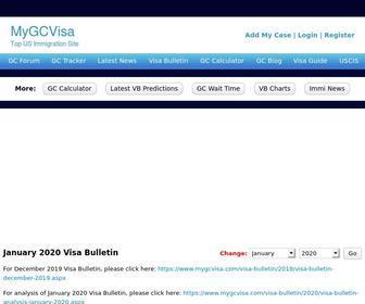 Mygcvisa: Mygcvisa.com  July 11 Visa Bulletin - StatsCrop
