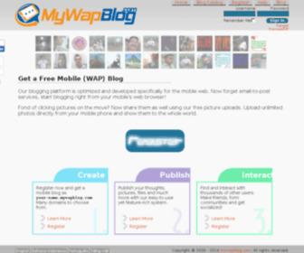 Mywapblog.com - Get a Free Mobile Blog at MyWapBlog.com