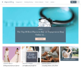 Mywedding.com - Wedding Planning, Wedding Websites, Registries & Ideas - mywedding.com