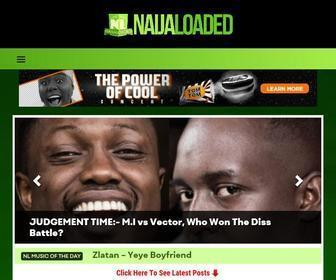 Naijaloaded.com.ng - Naijaloaded | Nigeria's Most Visited Music & Entertainment Website