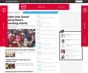 Nation.co.ke - Daily Nation - Breaking News, Kenya, Africa, Politics, Business, Sports, Blogs, Photos, Videos