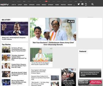 Ndtv.com - NDTV: Latest News, India News, Breaking News, Business, Bollywood, Cricket, Videos & Photos