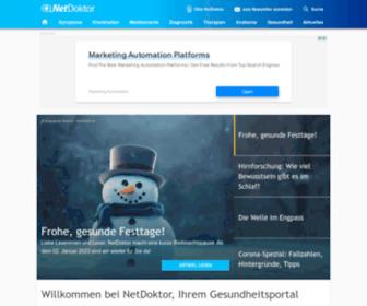 Netdoktor.de - NetDoktor.de: Ihr Gesundheitsportal im Internet - NetDoktor