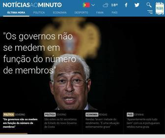 Noticiasaominuto.com - Notícias Última Hora: Seja o Primeiro a Saber - Notícias ao Minuto