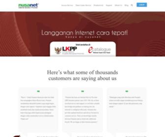Nusa.net.id - NusaNet – Internet Solution ProviderNusaNet – Internet Solution Provider