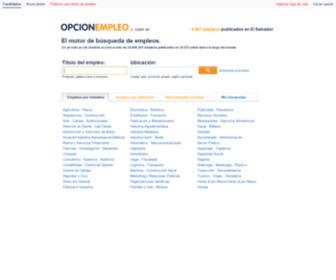 Opcionempleo.com.sv - Opcionempleo.com.sv - Empleos & Carreras profesionales en El Salvador