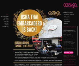 Oshathai.com - Osha Thai Restaurant