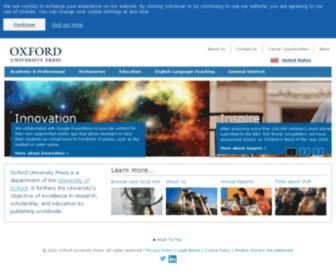 Oup.com - Oxford University Press
