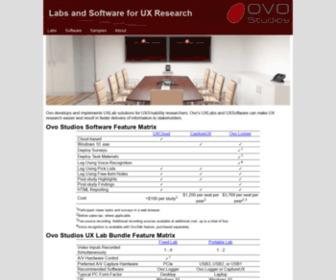 Ovostudios.com - Ovo Studios UX Labs