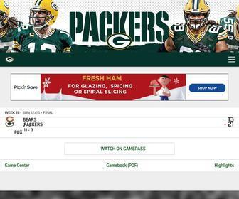 Packers.com - Packers.com, the official website of the Green Bay Packers