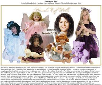 Pamelaerffdolls.com - Pamela Erff American Doll Artist - Porcelain Vinyl Child Boy Girl Artist Dolls