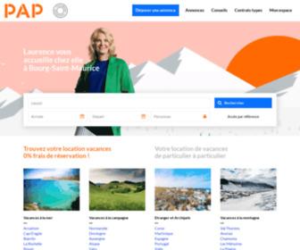 Papvacances.fr - Location vacances particulier : maison, villa, appartement | Particulier - PAP Vacances