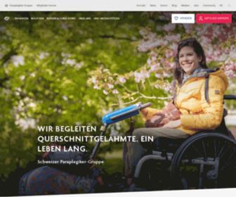 Paranet.ch - Schweizer Paraplegiker-Gruppe